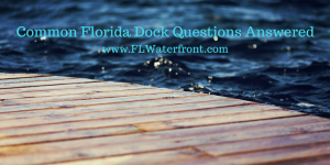 Florida Dock Permit Information