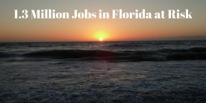 1 3 million jobs in florida at risk for Fishing jobs in florida